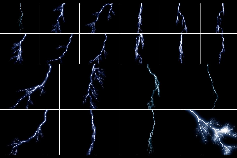 100 Lightning Overlays Vol. 3 example image 4