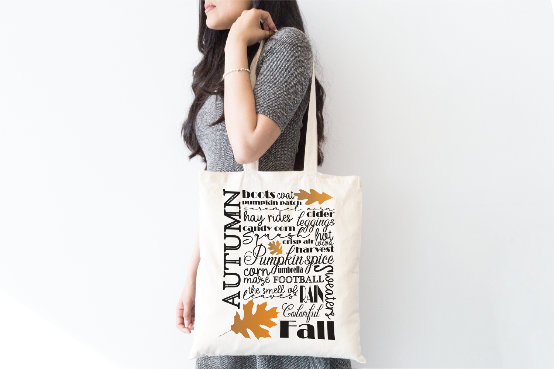 Autumn / Fall - Subway Sign Art Print and Design Set example image 3