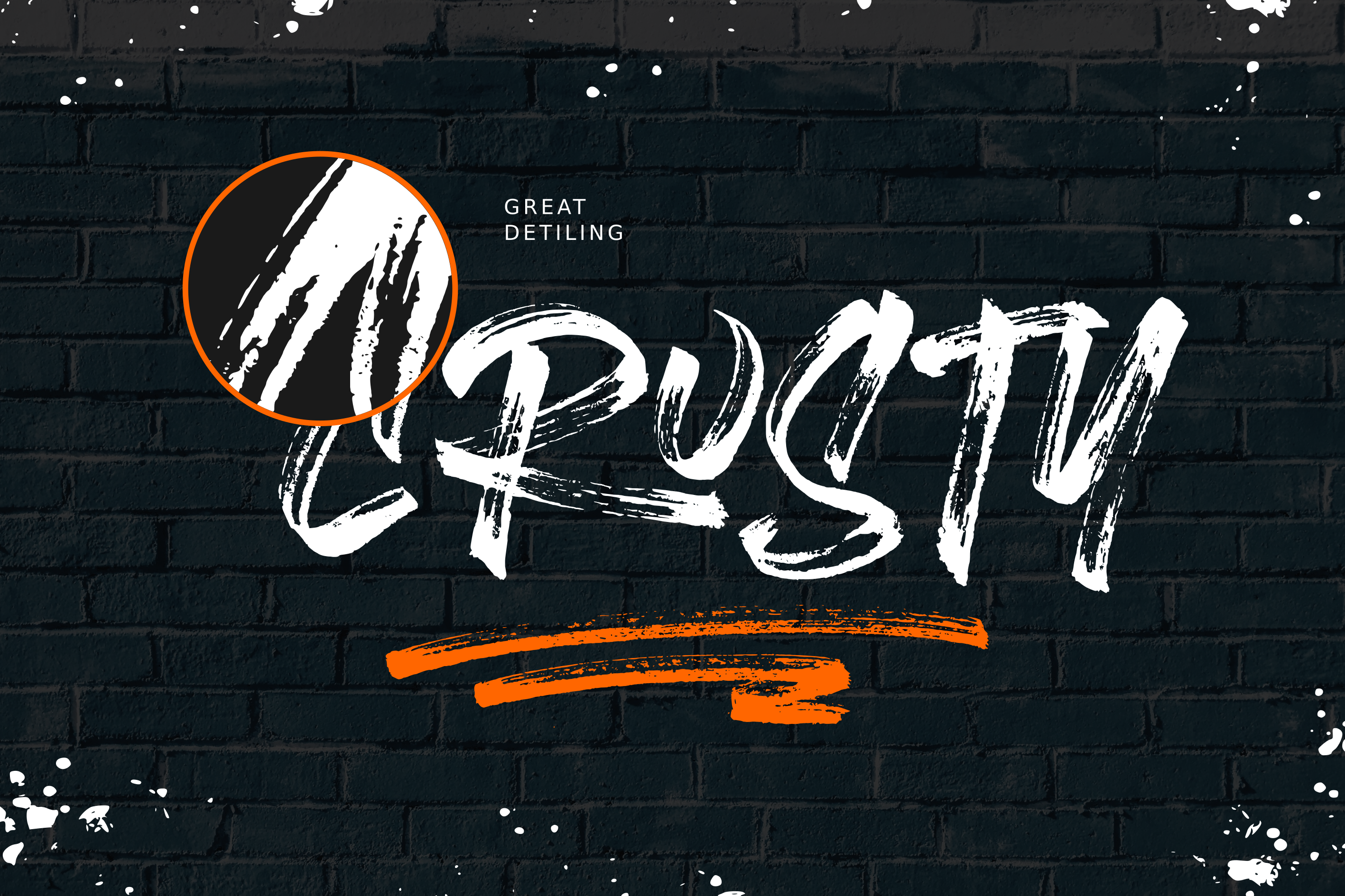 Brushlie - urban typeface - example image 10