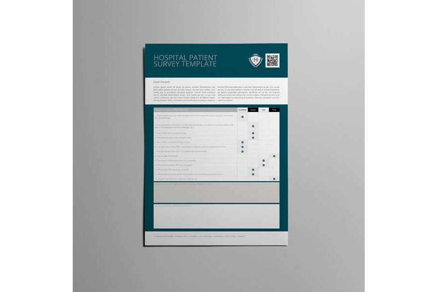 Hospital Patient Survey Template example image 5
