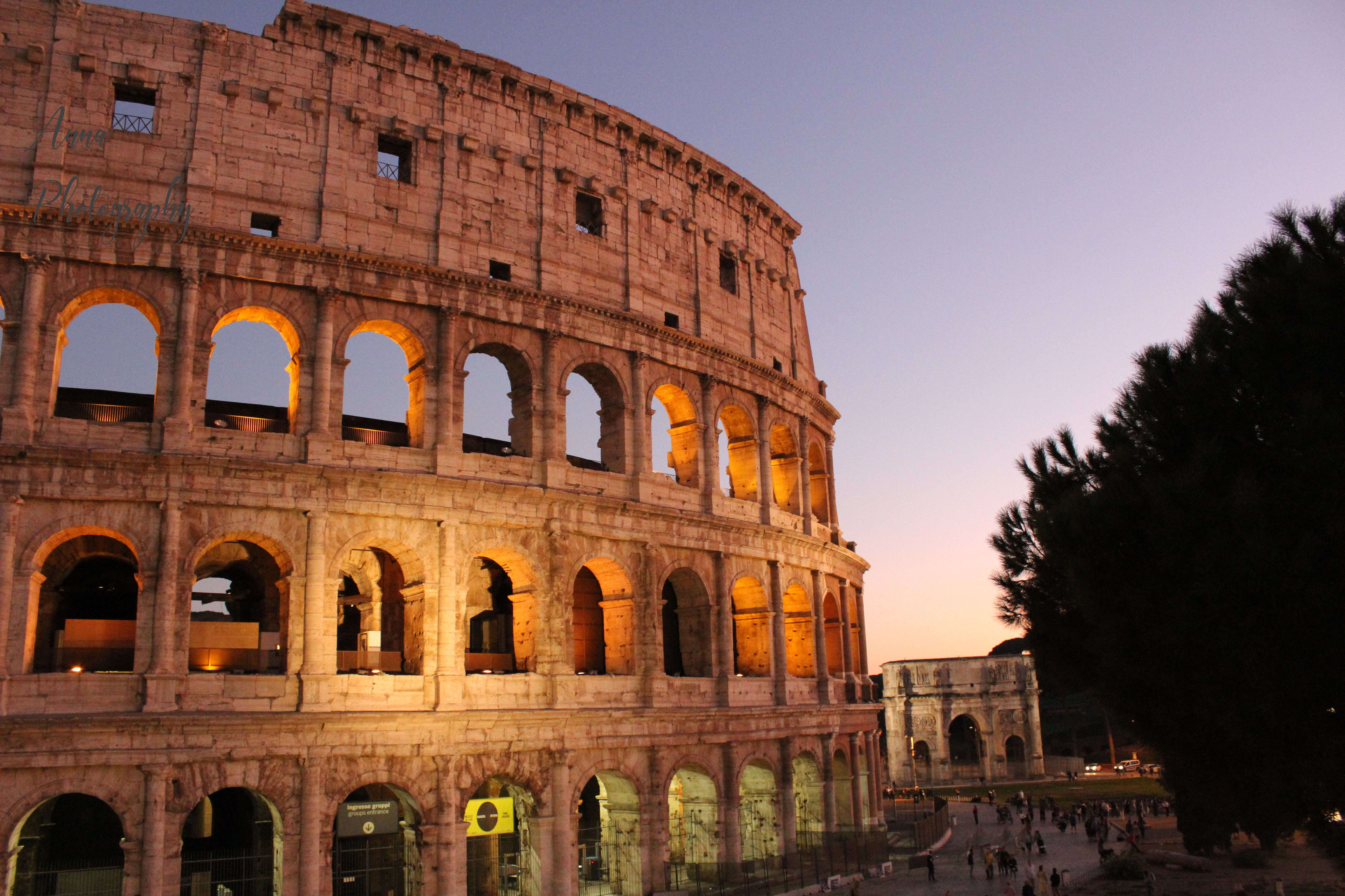 Colosseum Sunset  example image 1