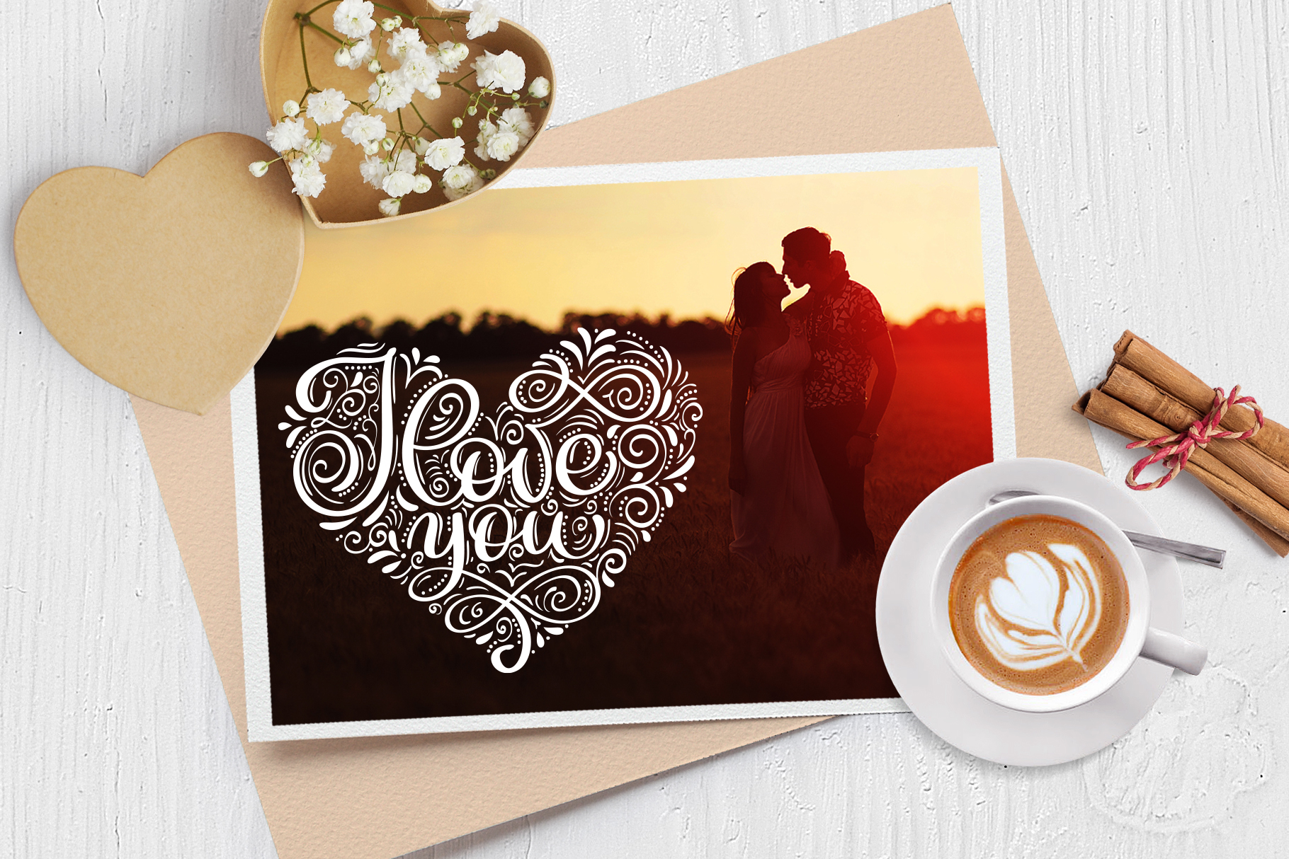 I Love You Vector Valentine Quote SVG example image 5
