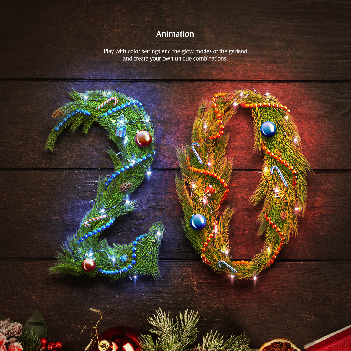 Christmas Animated Typeface example image 4