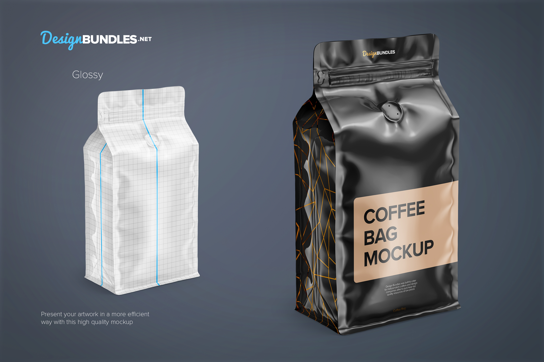 Coffee Bag Mockups example image 2