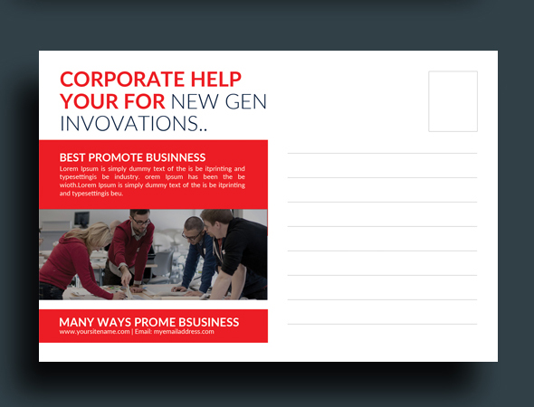 Business Postcard example image 2