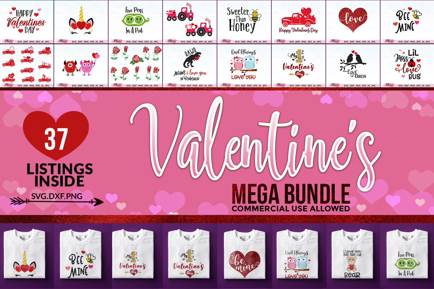 The Mega SVG Bundle example image 2
