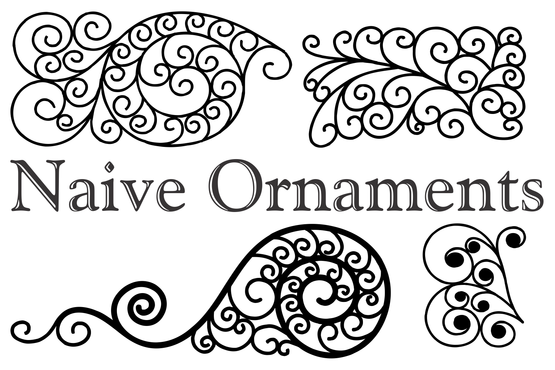 Naive Ornaments  example image 2