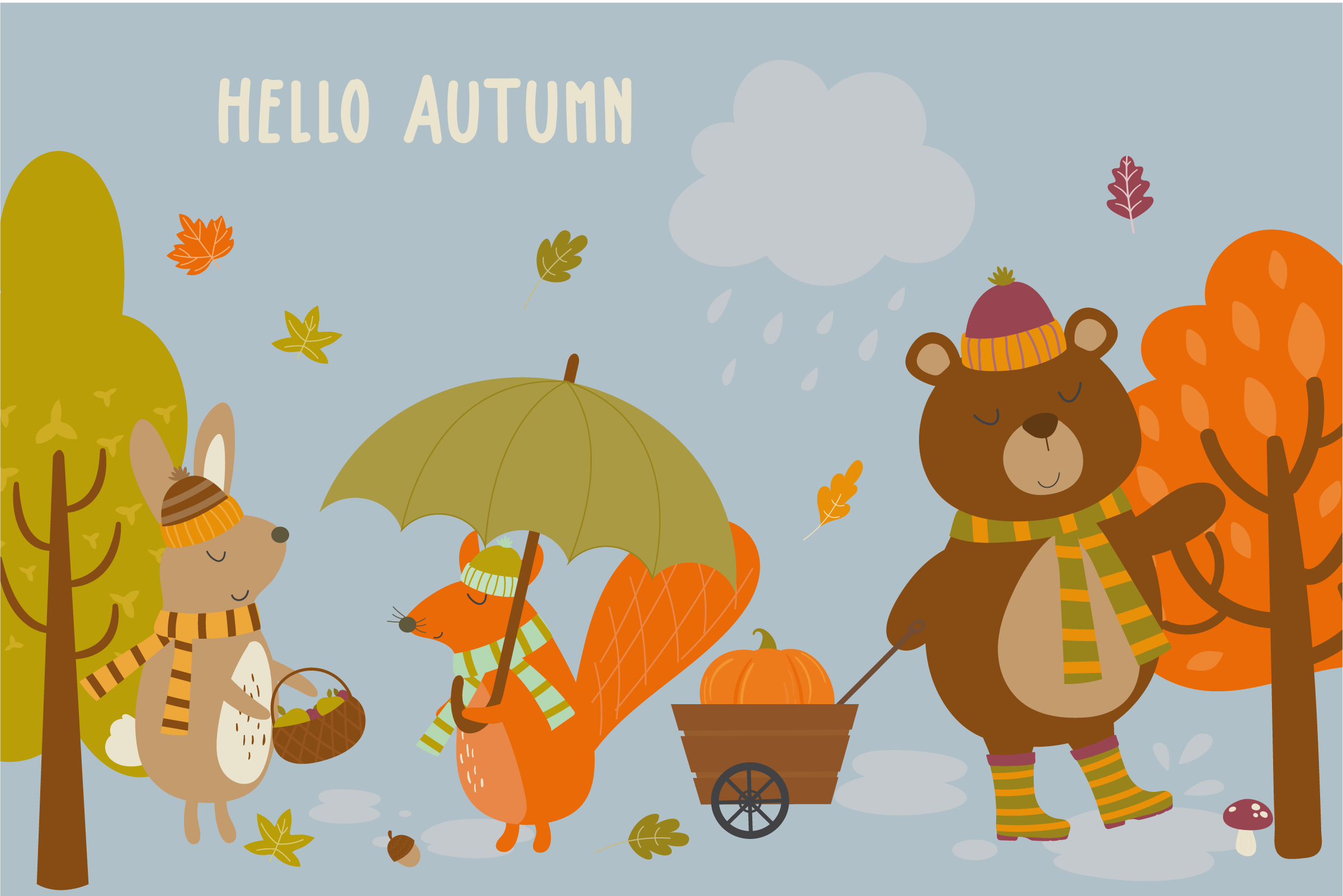 Hello Autumn pack example image 1
