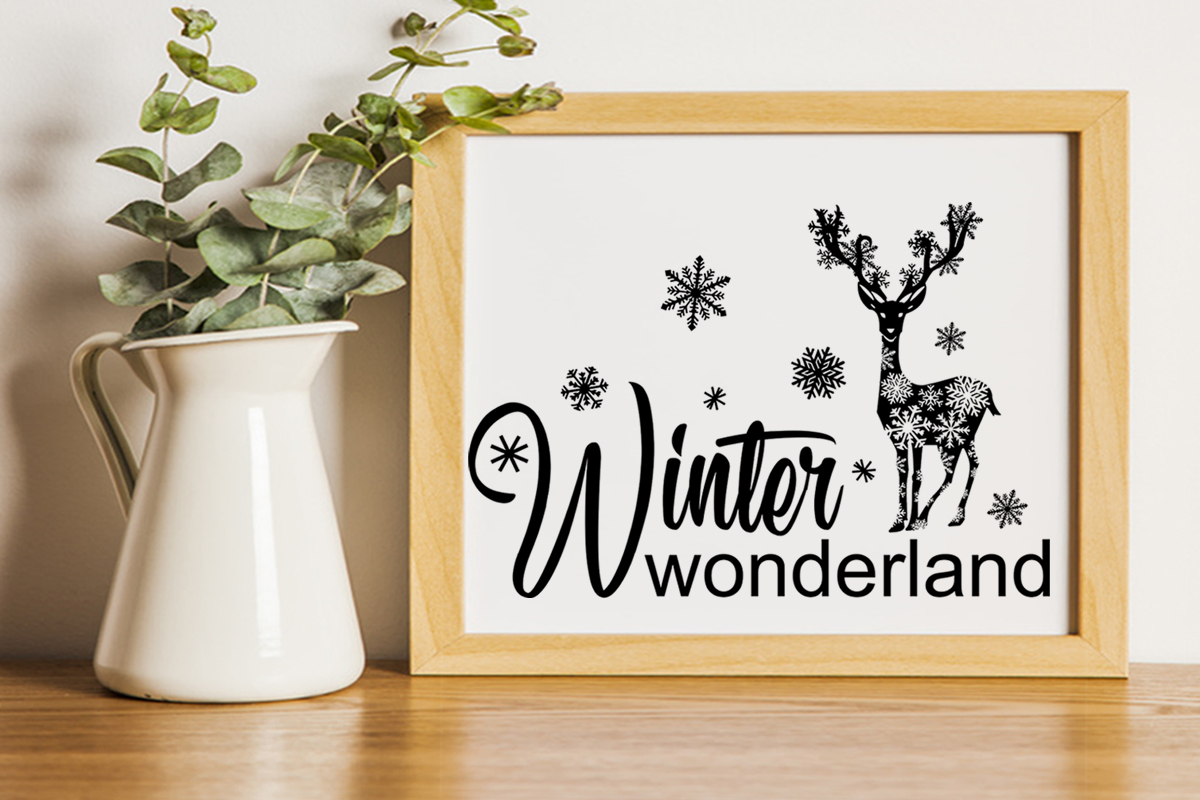 Christmas svg Winter wonderland svg Winter svg Snowflake svg example image 7