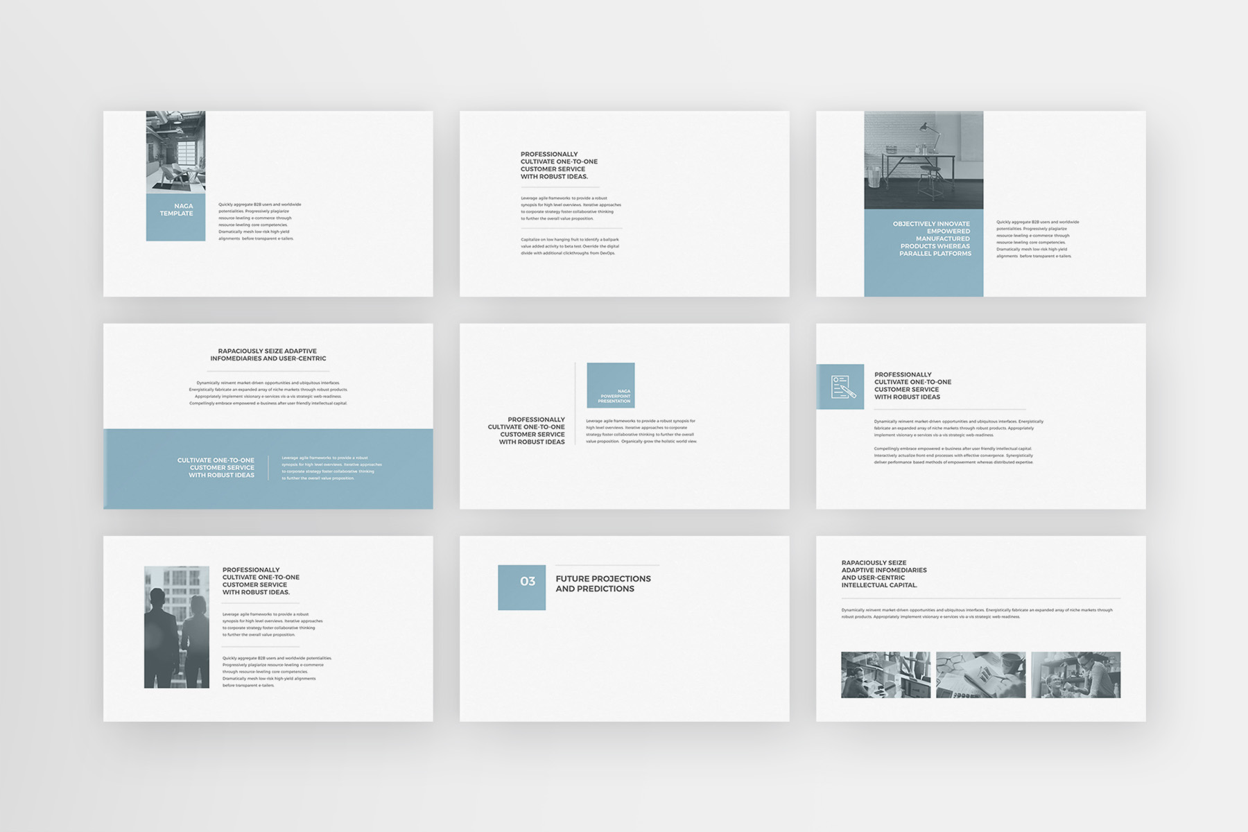 Naga - PowerPoint Template example image 4