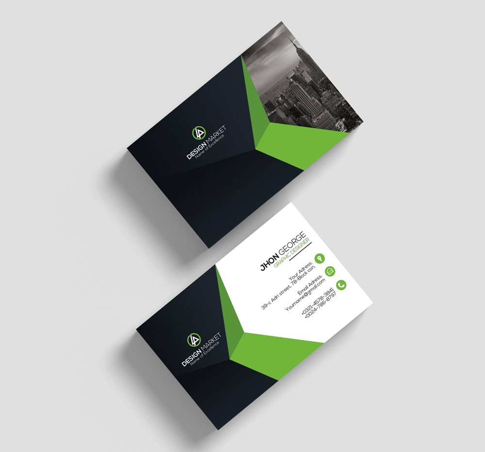 Clean Business Card Psd example image 2