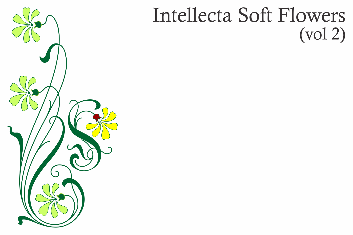 Intellecta Soft Flowers vol 2 example image 2