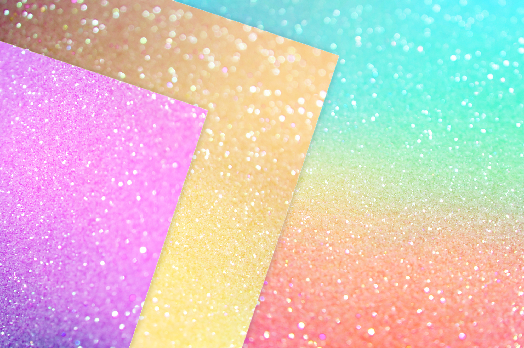 Gold Marble and Iridescent Glitter Textures BUNDLE example image 8