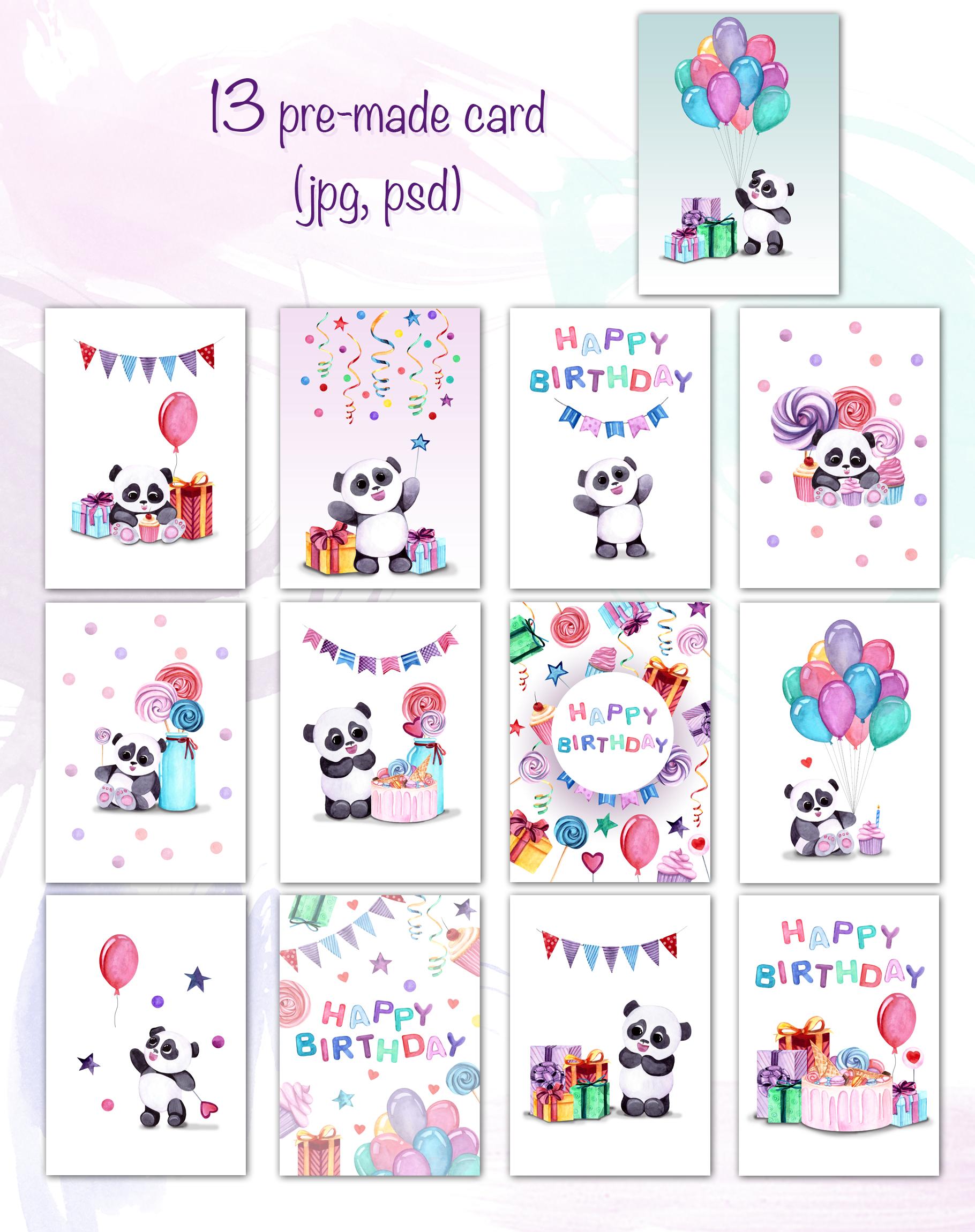 Panda's birthday example image 5