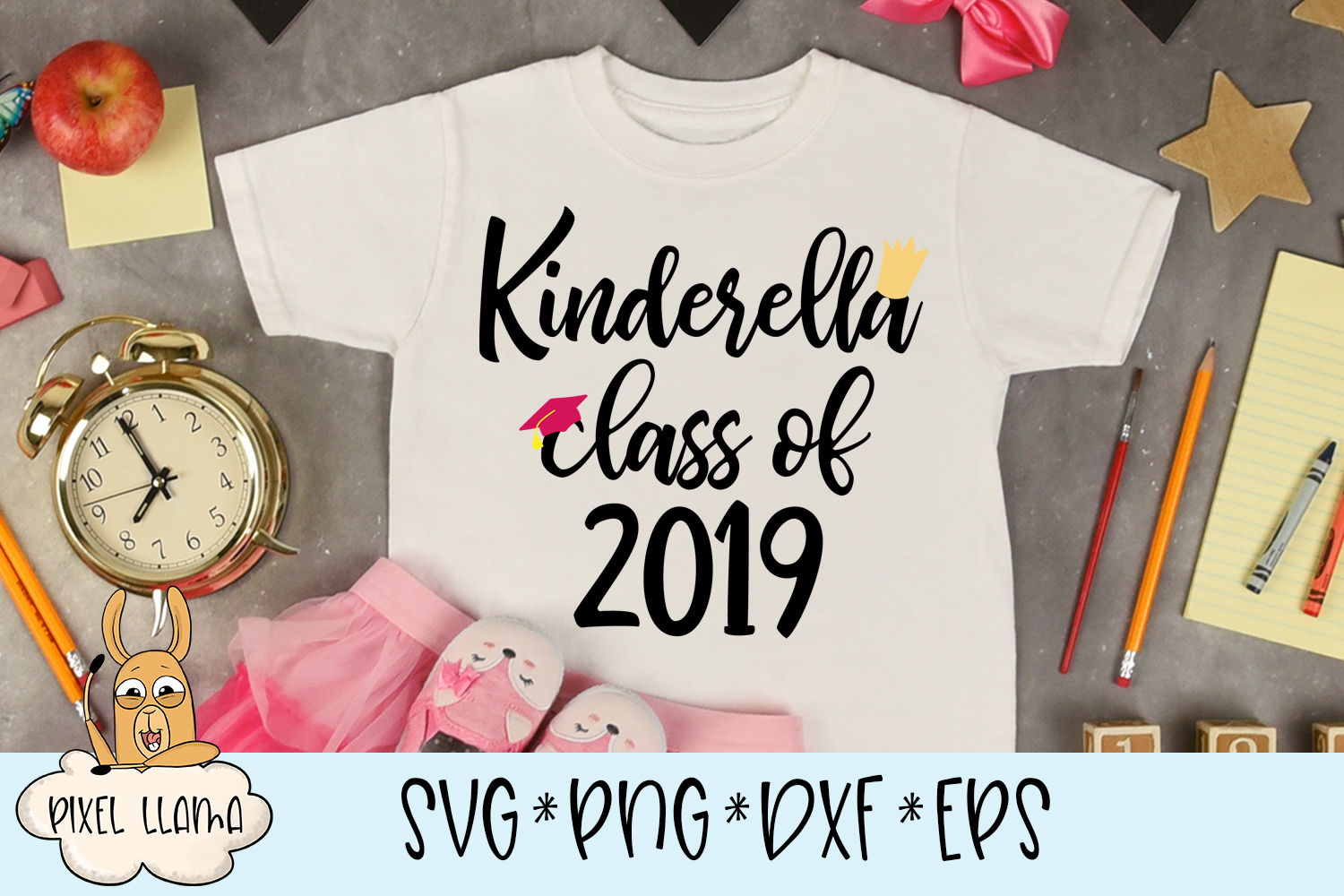 Kinderella Class Of 2019 SVG example image 1