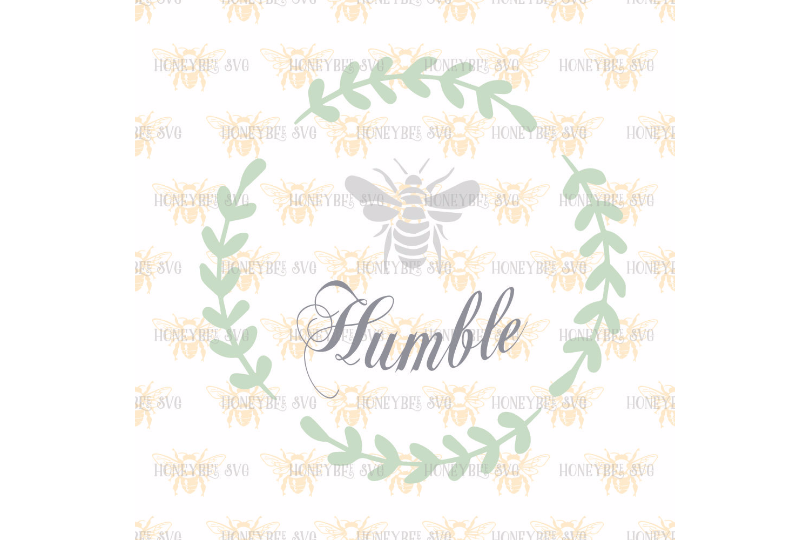 Bee Humble svg example image 2