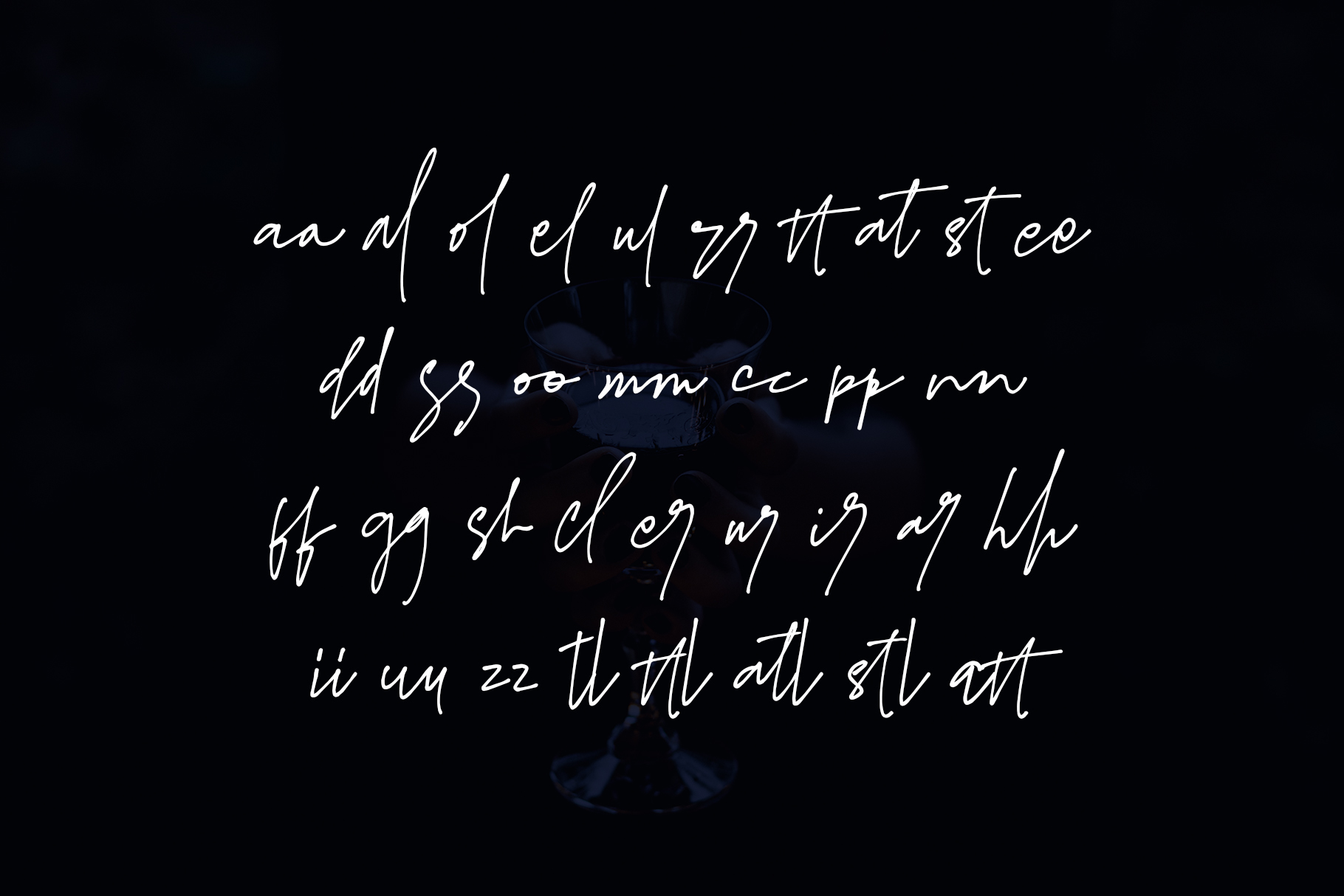 James Black Signature Font example image 3