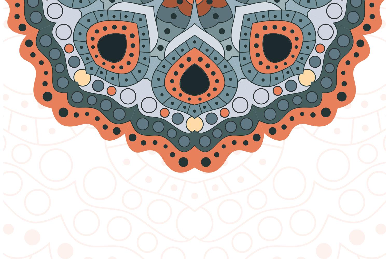 Vector Mandala Art example image 4