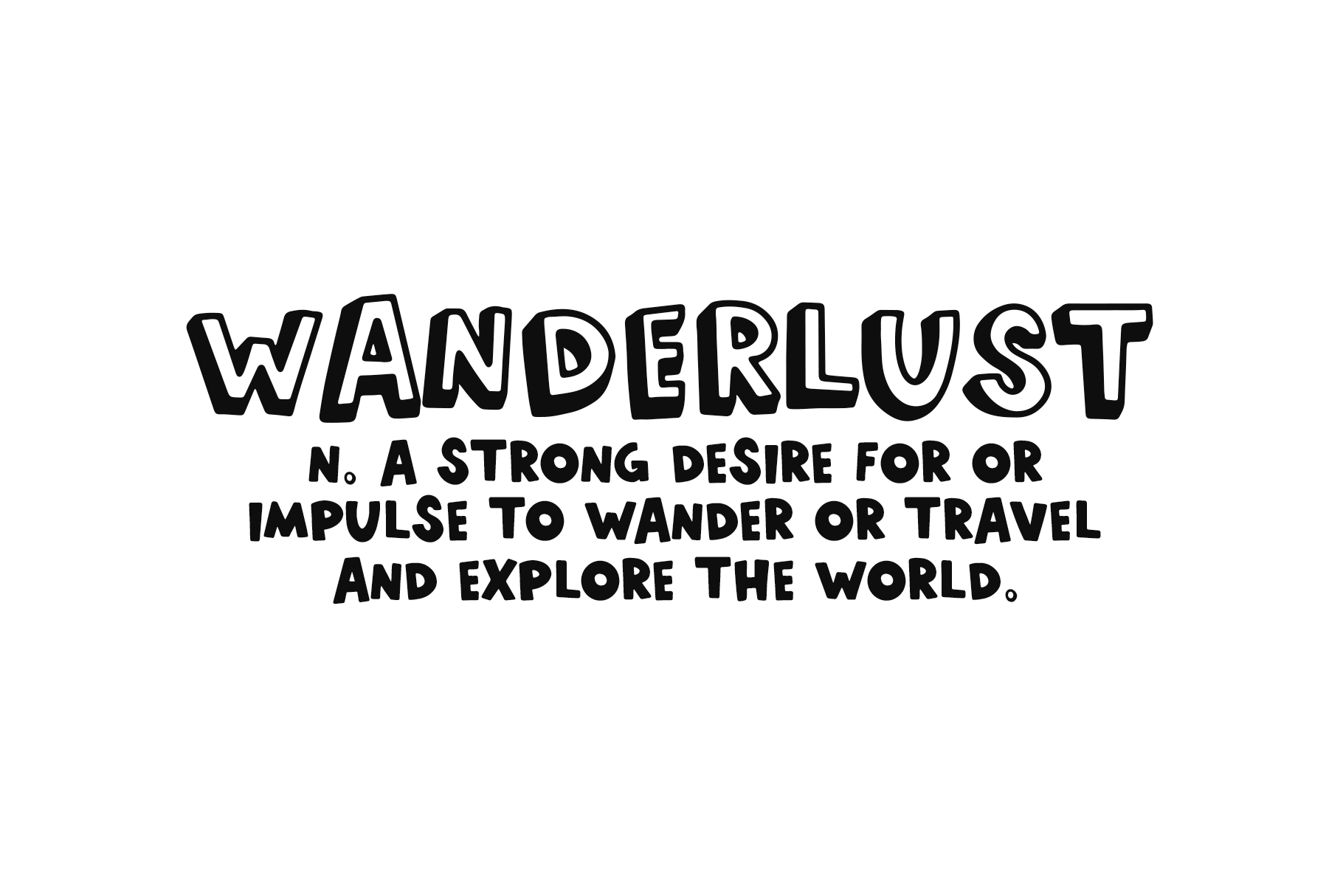 World Traveler - A Quirky Handwritten Font example image 8