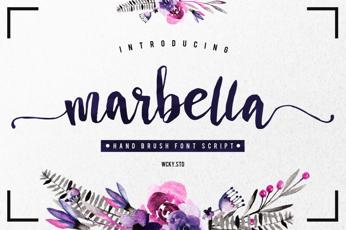 Marbella Typeface example image 1