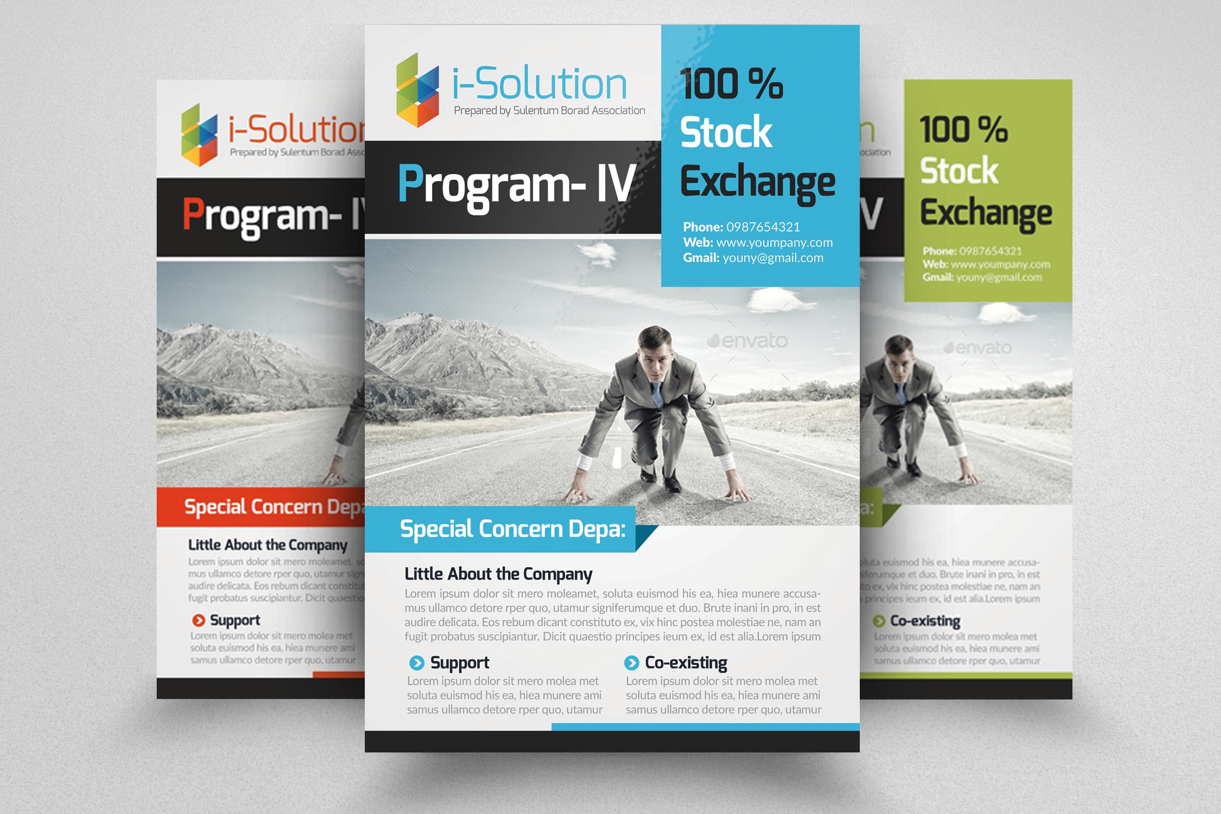 7 Corporate Business Flyers Bundle example image 2