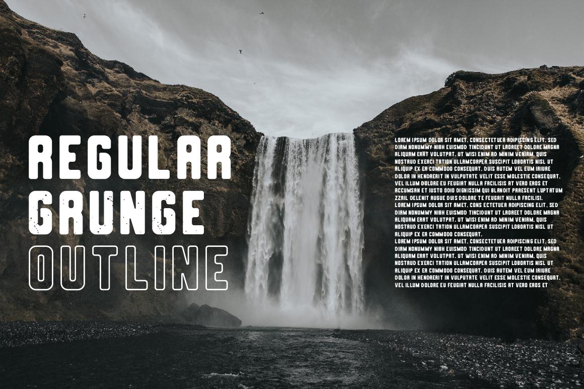 Halken Typeface example image 4