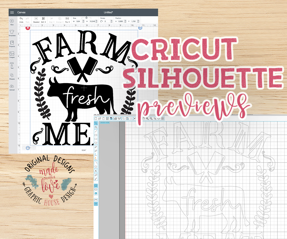 Farm Fresh Meat Cut File and Printable example image 2