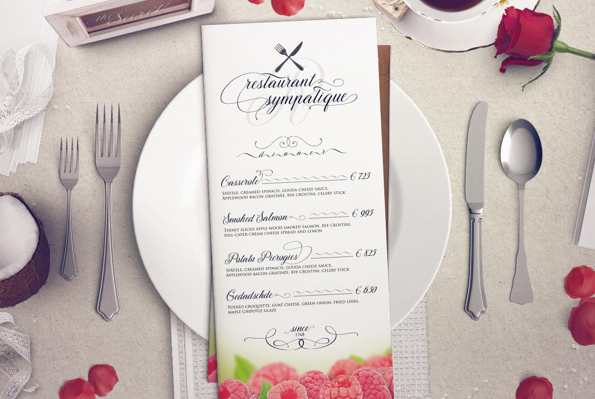 TheSecret Luxury Calligraphy Script example image 7