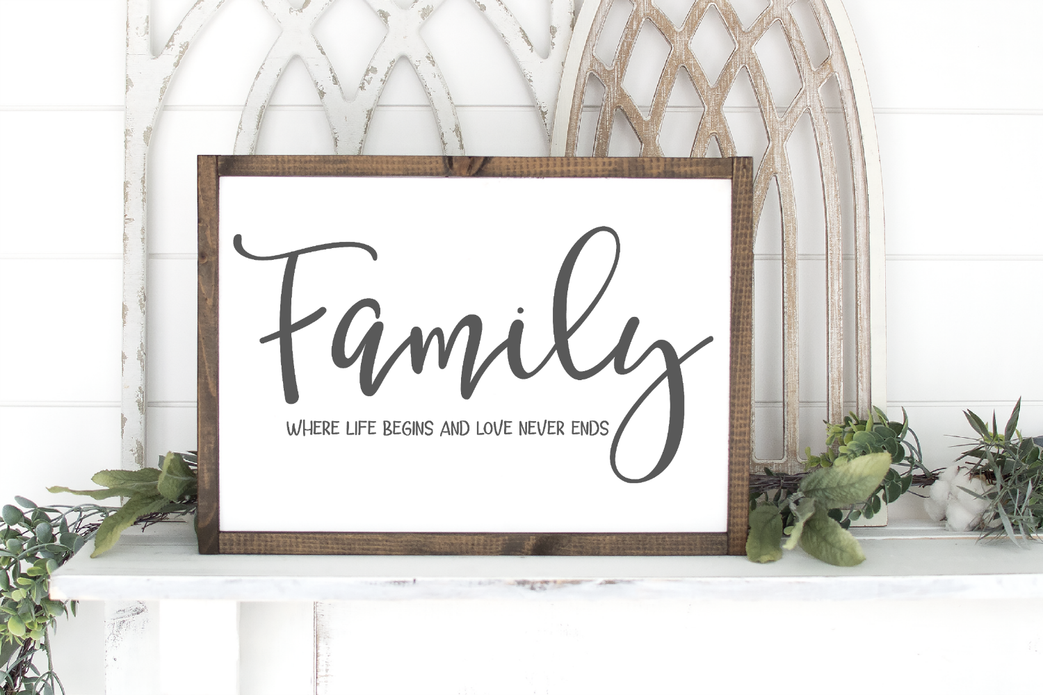 Welcome - Home - Doormat - Sign - Family Bundle SVG example image 5