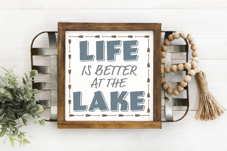 Vacation - Camping - Summer - Lake Bundle SVG example image 10