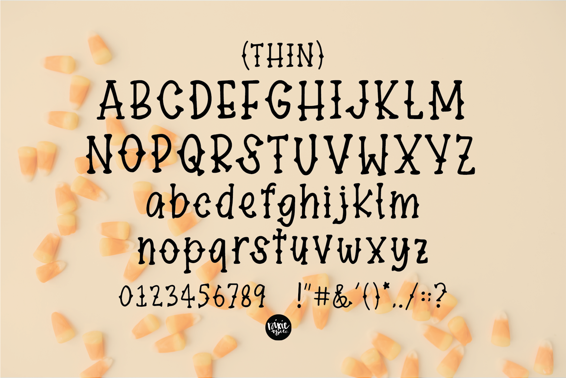 DEFINITELY HAUNTED A Spooky Halloween .OTF Font example image 5