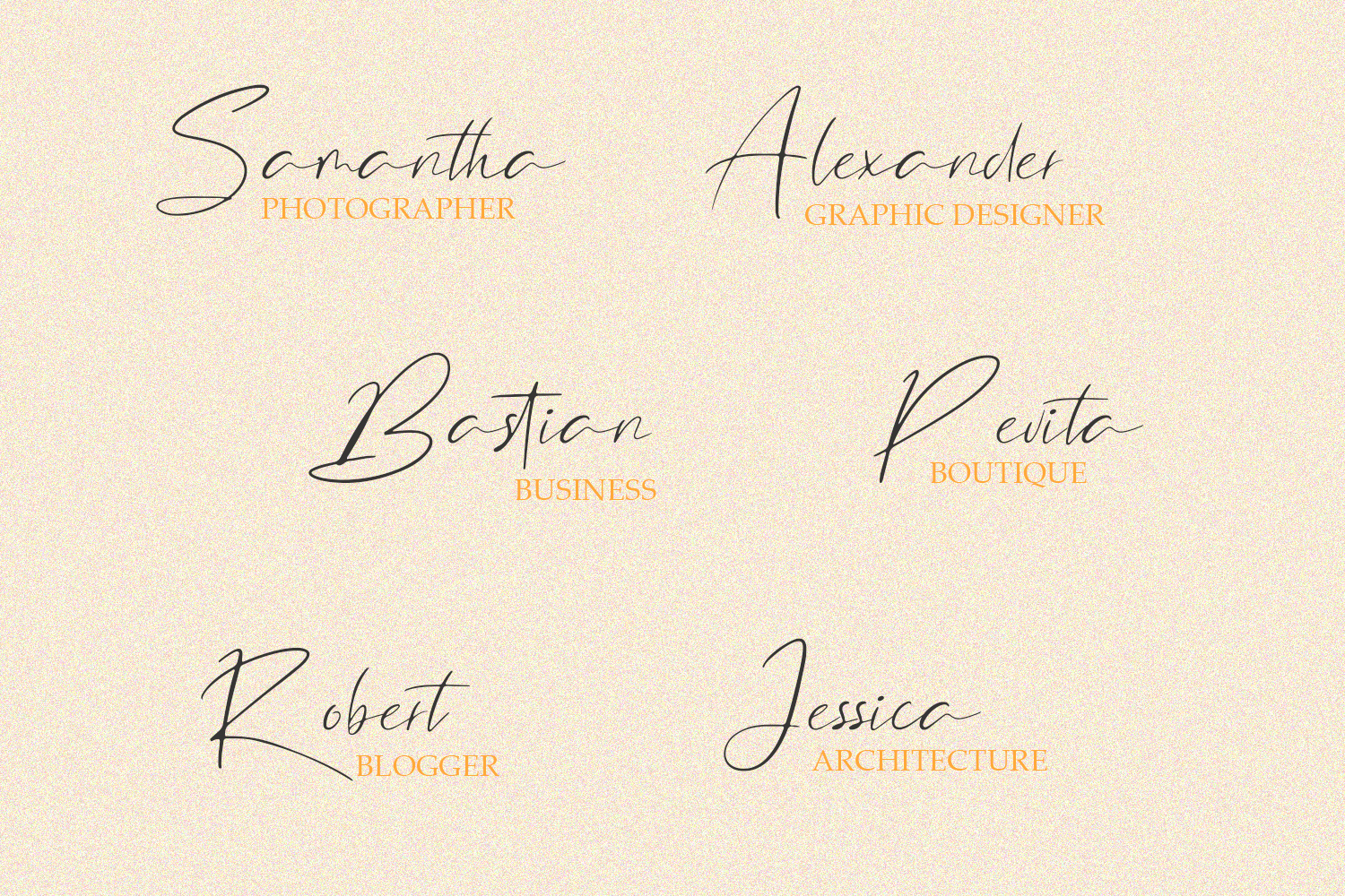 North Little Signature Font example image 5