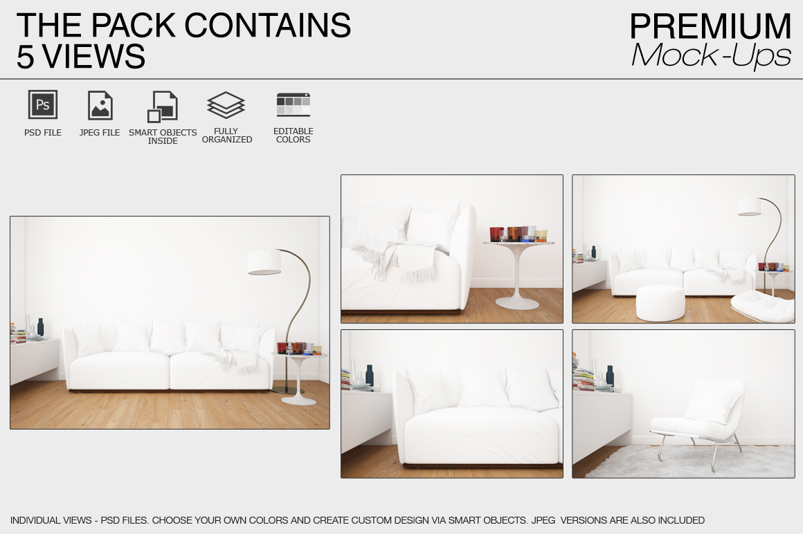 Pillow Mockup Set example image 17