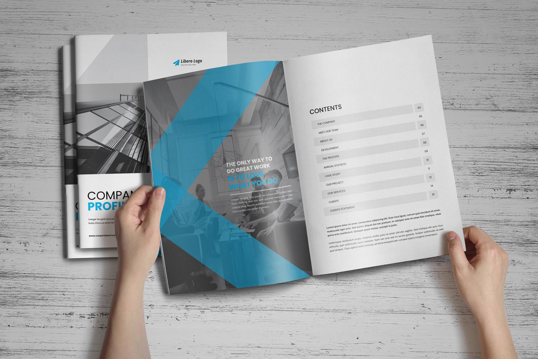 Company Profile Brochure v7 example image 13