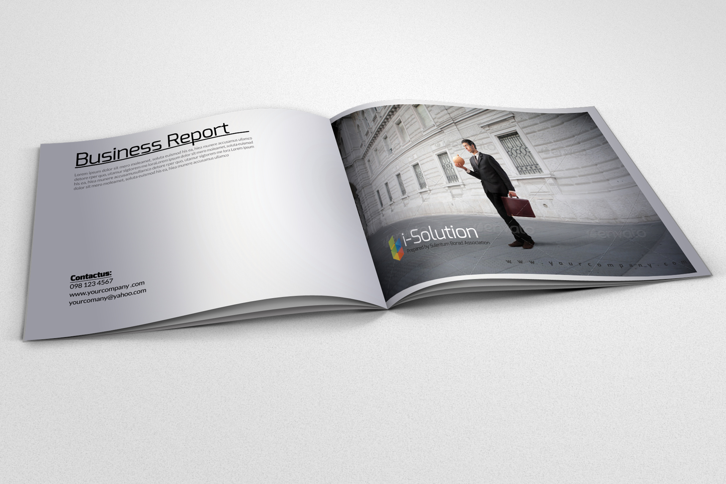 20 Pages Catalogue Business Bifold Brochure example image 5