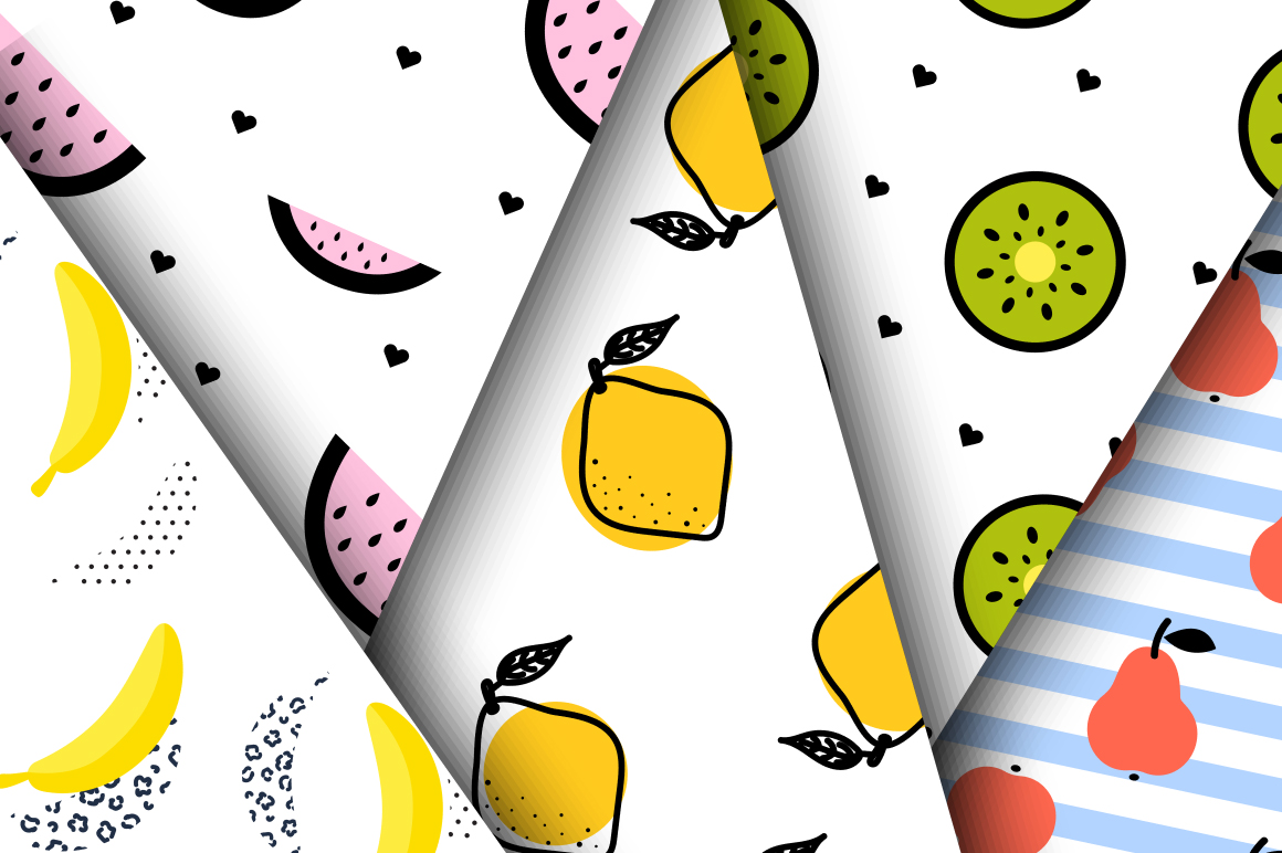 Juicy Pop Art Fruits example image 3