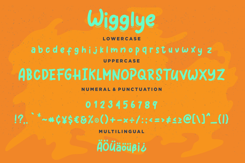 Wigglye Joy & Fun Typeface example image 7