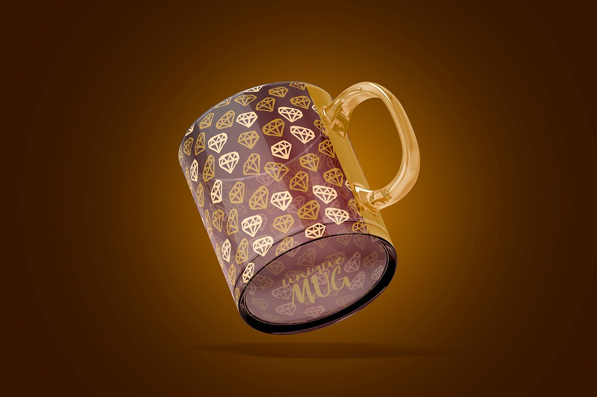 Glass Mug Animated Mockup example image 8