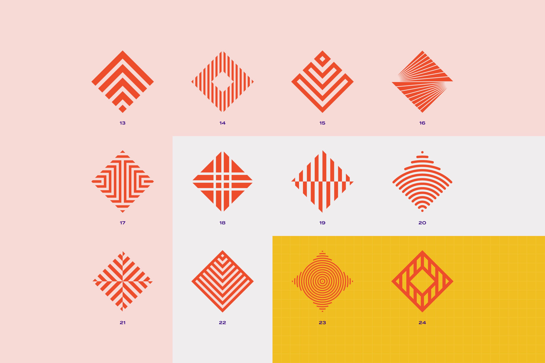 96 Geometric shapes & logo marks VOL.2 example image 5
