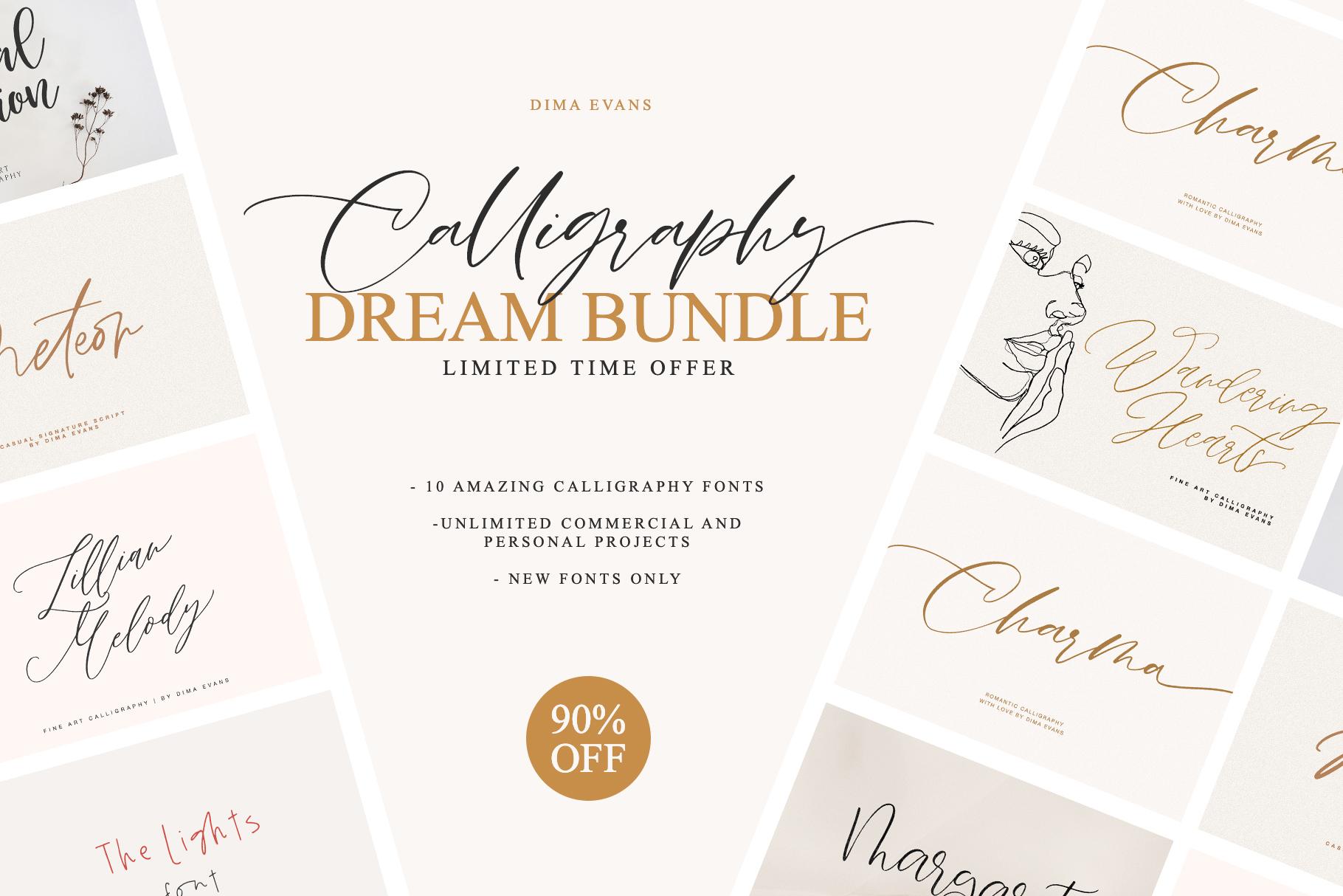 Calligraphy Dream Box example image 1