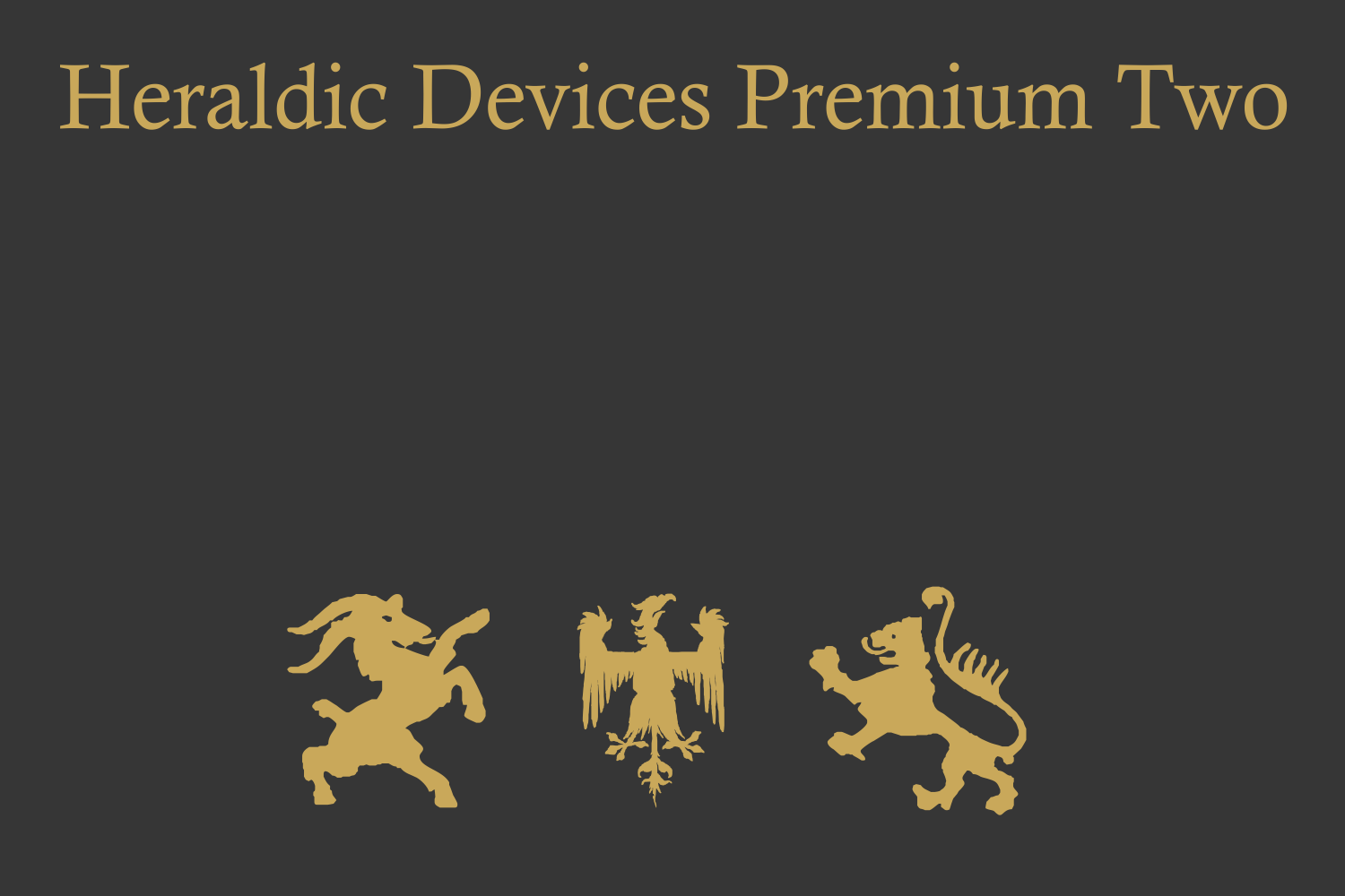 Heraldic Devices Premium (pack)  example image 2