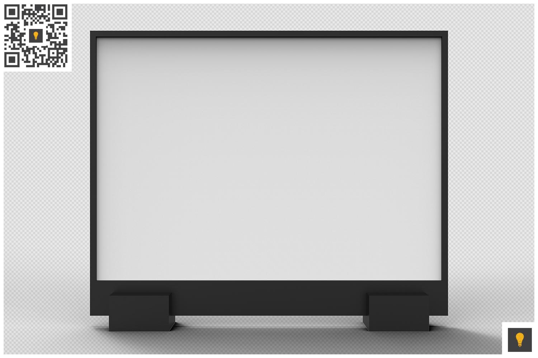 Flyer Display 3D Render example image 8