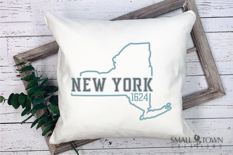 New York, Empire State - slogan, PRINT, CUT & DESIGN example image 9