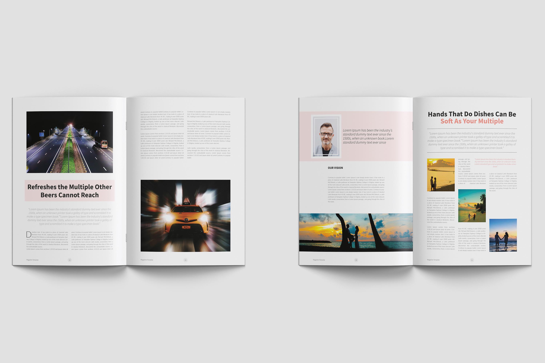 Modern Multipurpose Magazine Layout example image 8
