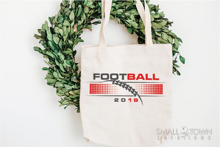 Football, Football ball, Team logo, PRINT, CUT & DESIGN example image 4