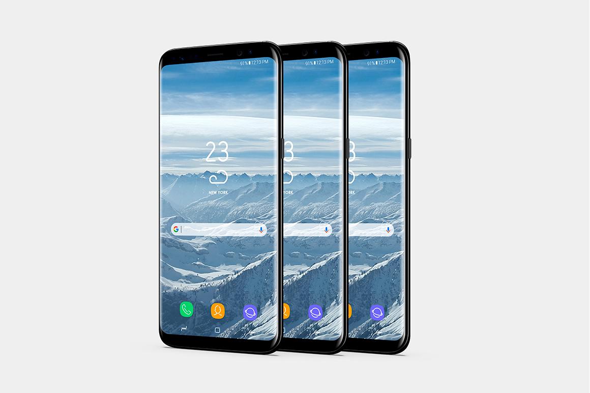 Smartphone Mock-Ups Vol. 2 example image 5