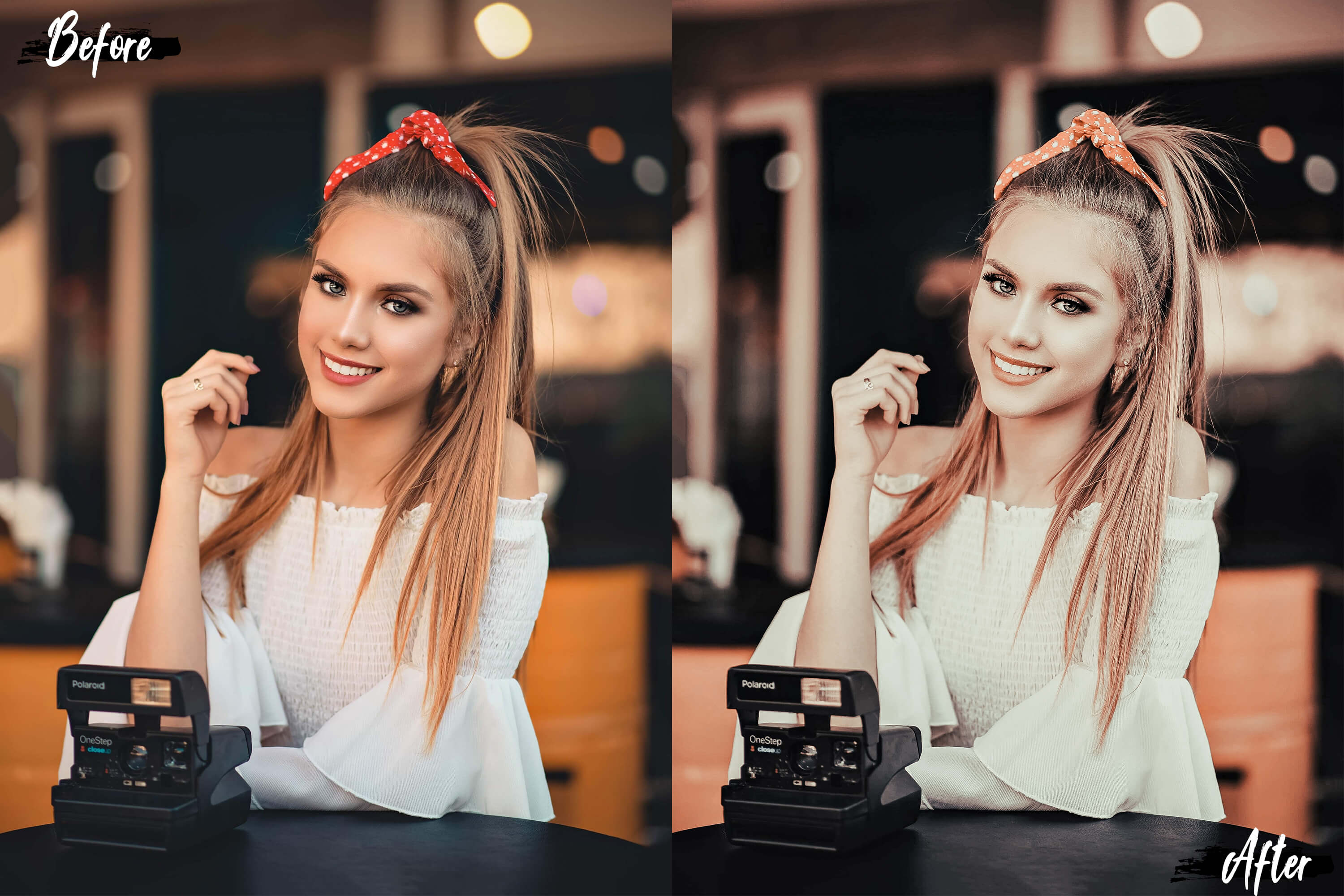 5 Dreamy Autumn Photoshop Actions, ACR and LUT presets example image 2