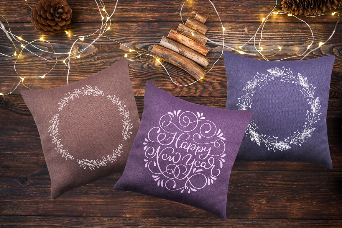Merry Christmas Quotes and Objects Calligraphy Collection example image 12
