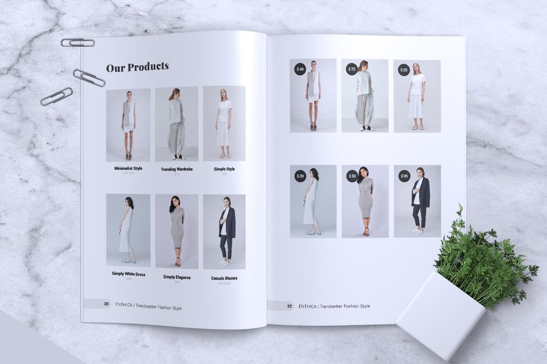ENTHICA Fashion Magazines example image 4