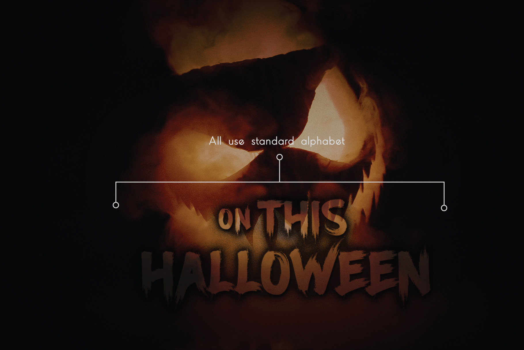 Ancherr Horror Brush Typeface example image 6